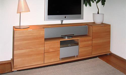 hochwertiges medienm bel f r exklusive tv ausstattung schreinerei held ihre schreinerei in. Black Bedroom Furniture Sets. Home Design Ideas